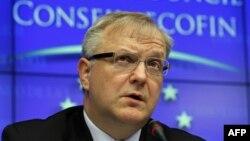 Kepala Urusan Ekonomi Uni Eropa, Olli Rehn mengatakan langkah Latvia untuk bergabung zona Euro merupakan sinyal positif bagi kawasan itu (foto: dok).