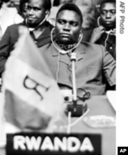 Assassinated former President Juvenal Habyarimana.