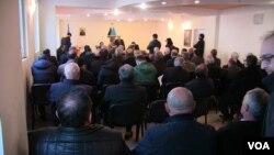 Müsavat Partiyasının qərargahında toplantı