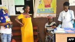Maternité de l'hôpital Phebe de Bong Town, dans le centre du Libéria, le 27 mai 2019.