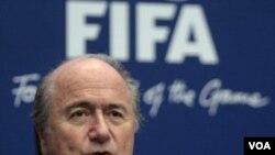 Presiden FIFA Sepp Blatter.