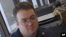 Coast Guard volunteer Ryan Bank