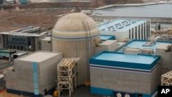 韩国蔚山一座核电厂。(资料图片)