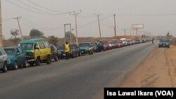 La route de Kaduna, au Nigeria, le 13 février 2018. (VOA/Isa Lawal Ikara)