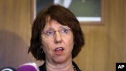 Juru bicara kebijakan luar negeri Uni Eropa, Catherine Ashton (Foto: dok).