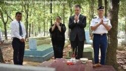 Điểm tin ngày 23/6/2020 - Đại sứ Mỹ thăm hai nghĩa trang Việt Nam của hai bên Cộng sản, Cộng hòa