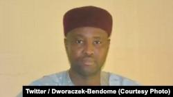 L'ex-gouverneur Adam Nouki Charfadine, condamné le 28 juin à 5 ans ferme, est désormais condamné à 2 ans de prison avec sursis et 500.000 FCFA (760 euros) d'amende, sur une photo publiée le 5 juillet 2018. (Twitter/Dworaczek-Bendome)