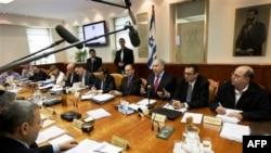 Zasedanje izraelskog kabineta o izgradnji naselja
