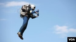 U.S.-based JetPack Aviation has developed a series of new devices that it says are the world's first true jetpacks for personal flight. (Credit: JetPack Aviation)