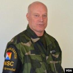 中立国监督委员会瑞士代表团团长格兰斯塔德少将