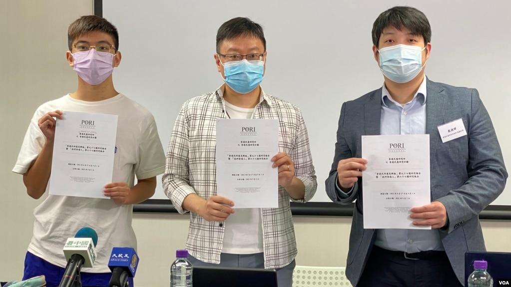 香港民意研究所9月3日公布的民意調查顯示,只有4%的受訪者有經常討論和提及香港未來一年的三場選舉,包括9月19日的選委會選舉、12月的立法會選舉,以及明年3月的特首選舉 (美國之音湯惠芸)