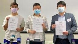 香港民意研究所9月3日公布的民意调查显示,只有4%的受访者有经常讨论和提及香港未來一年的三场选举,包括9月19日的选委会选举、12月的立法会选举,以及明年3月的特首选举 (美国之音汤惠芸)