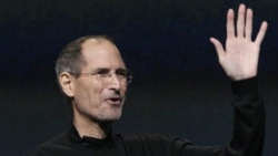 Steve Jobs during one of his presentations to the media earlier this year. Tim Cook, who was the Apple's chief operating officer, has become the company's chief executive.