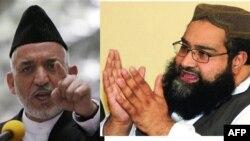 Afg'oniston prezidenti Hamid Karzay va Pokiston Ulamo kengishining raisi Tohir Mahmud Ashrafiy
