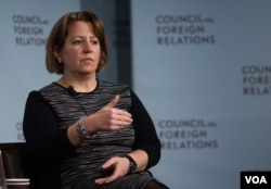 白宫国土安全和反恐事务助理丽莎莫纳科在纽约智库外交关系委员会发表谈话(2017年1月10日)