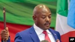 Pierre Nkurunziza, président du Burundi. (AP Photo/Gildas Ngingo)