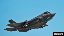 美國F35聯合攻擊機。