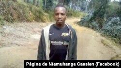 Ntamuhanga Cassien, jornalista ruandes sequestrado em Moçambique