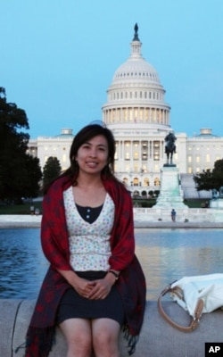 Thy Heang, is currently a communications officer at Cambodians for Resource Revenue Transparency.