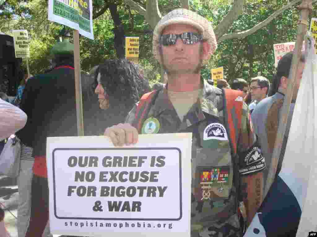 Морской пехотинец Джейсон Питерсон: «Наша скорбь – не повод для войн и нетерпимости»