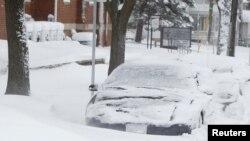 Trận bão tuyết lớn đầu tiên của năm nay, Iowa, 20/12/ 2012.