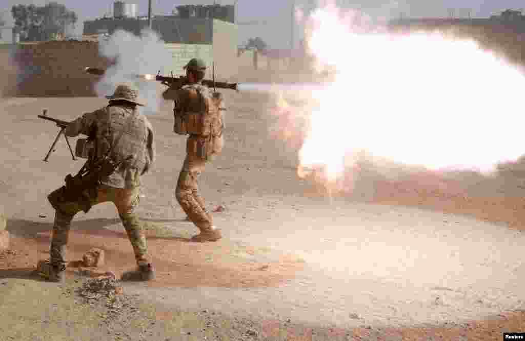 ایک عراقی جنرل نے کہا ہے کہ داعش کے جنگجوؤں کو شہر سے نکال باہر کرنے کے لیے لڑائی جاری ہے۔