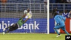 Un match lors de la Coupe africaine des nations le 8 février 2015.