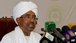 President Omar al-Bashir called for Sudanese national reconciliation on Monday before an audience that included his arch-rival, the religious and Islamist political leader Dr. Hassan al-Turabi.