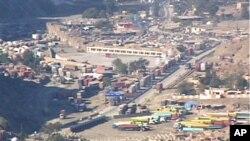 پاک افغان سرحد پر طورخم کا علاقہ