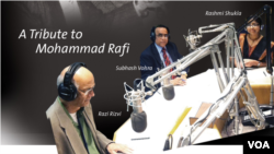 Flyer for Mohammad Rafi Tribute Program