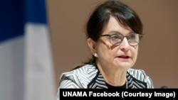 Kepala Misi Bantuan PBB di Afghanistan (UNAMA), Deborah Lyons