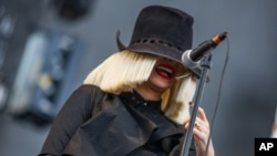 FILE - Sia performs at Wango Tango 2015 at StubHub Center.