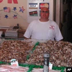 Ryan Evans oversees Jessie Taylor Seafood, a family business in Washington, DC, and is not buying from Gulf fisheries.