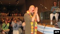 Борис Гребенщиков на концерте в ООН. 2007 г.