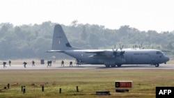 美國和印度空軍人員在印度舉行聯合演習(2018年12月10日)