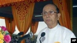 برما کے صدر تھین سین