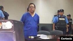 Miguel Mora, director de 100% Noticias fue detenido el viernes cuando estaba terminando de transmitir su programa. [Foto: Cortesía].