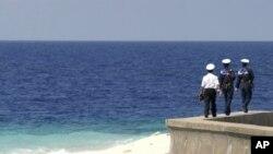 越南與中國在南中國海問題上發生爭端。