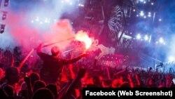 Hình ảnh lễ hội âm nhạc Defqon.1.