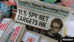 Ông Snowden tố giác Cơ quan An ninh Quốc gia NSA đã đột nhập các máy điện toán ở Hong Kong và lục địa Trung Quốc từ năm 2009.