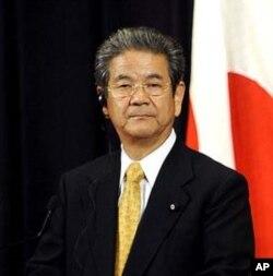 جاپانی وزیردفاع