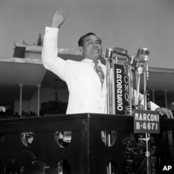 Fulgencio Batista, the former leader of Cuba who was ousted by Fidel Castro in 1959.