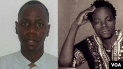Activistas Nito Alves e Mbanza Hamza