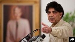 چوہدری نثار علی خان 1985ء سے مسلسل قومی اسمبلی کے رکن منتخب ہوتے آرہے ہیں۔ (فائل فوٹو)