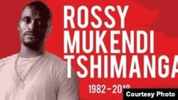 Rossy Mukendi, une photo relayée sur les réseaux sociaux pour lui rendre hommage.