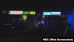 Nhà hàng Bon Mua nơi vụ nổ súng xảy ra.