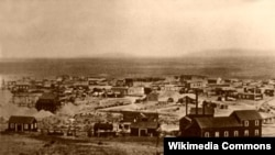 Tombstone, Arizona as it looked in 1891