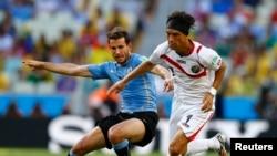 Đội Costa Rica thường ít được chú ý cho đến khi thắng thuyết phục Uruguay 3-1.