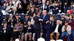 VOA: Trump participa en ceremonia por el 75 aniversario del Día D en Francia