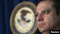 FILE - Manhattan U.S. Attorney Preet Bharara.